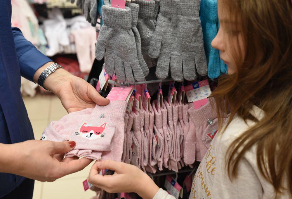 mănuși călduroase pentru copii