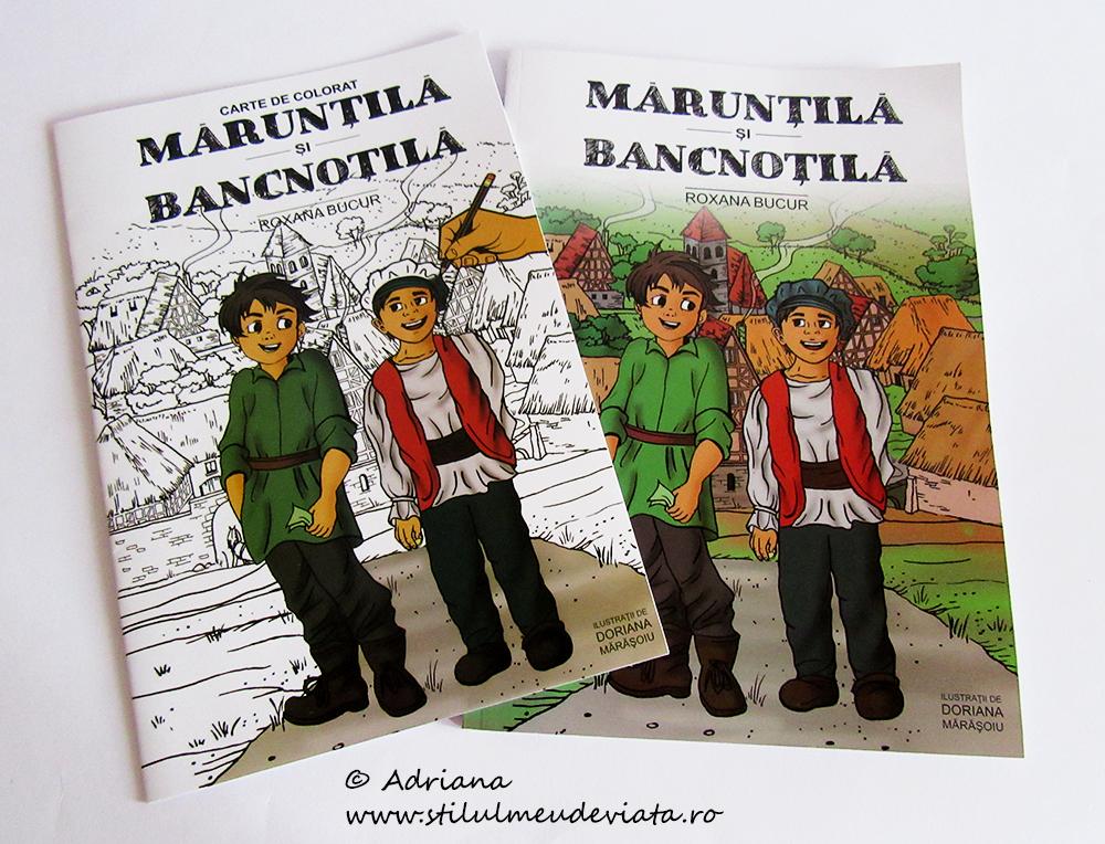 Mărunțilă și Bancnoțină, carte de educație financiară pentru copii