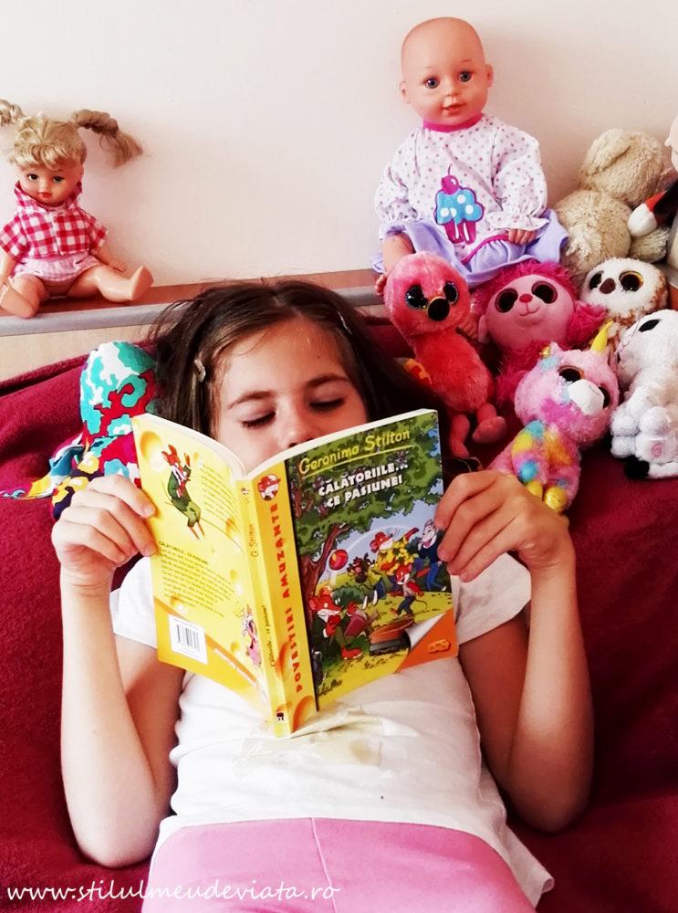 cărțile cu Geronimo Stilton, lecturi de vacanță