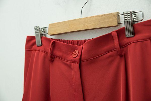 pantalon roșu