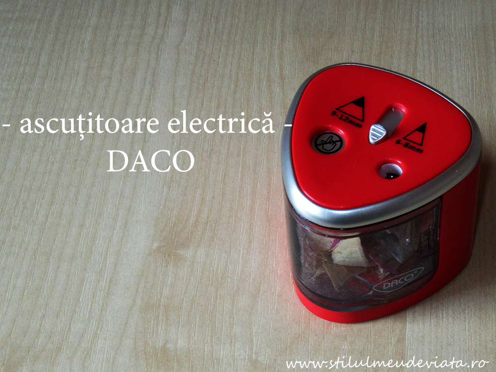 ascuțitoare electrică dublă - DACO
