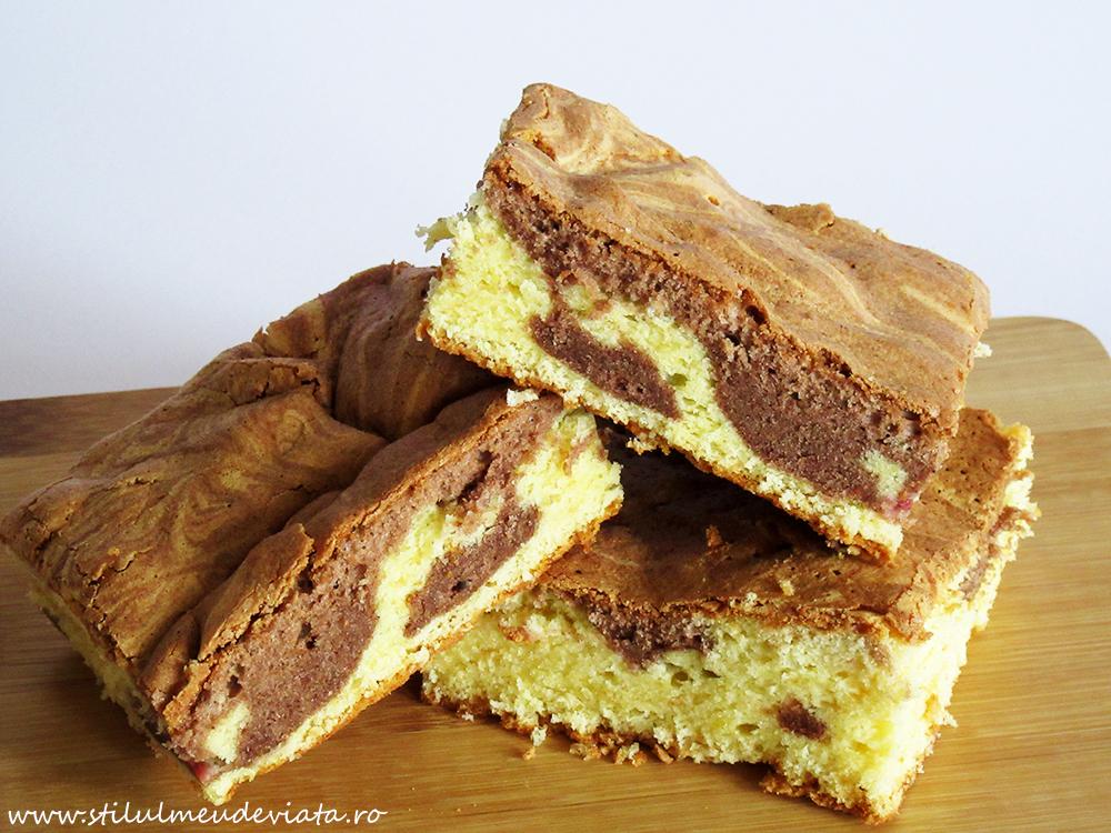 prăjitură marmorată