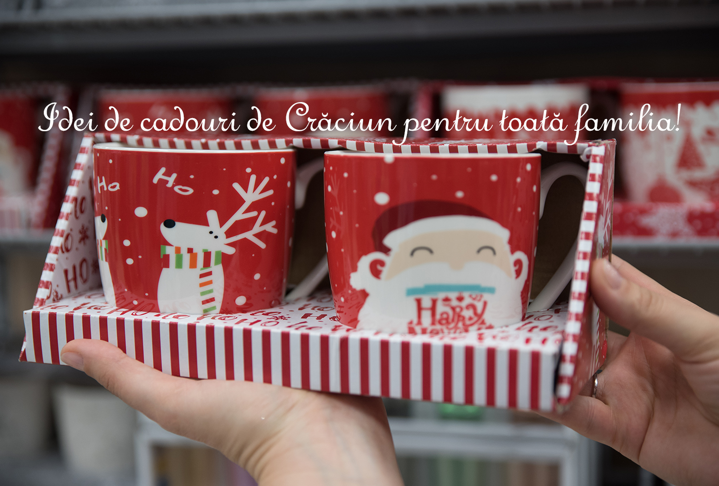 Idei de cadouri de Crăciun pentru toată familia