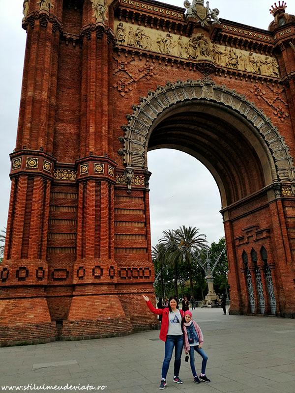 Arcul de Triumf din Barcelona