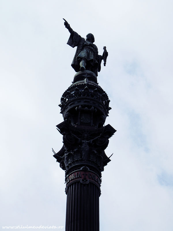 Columna lui Columb, Barcelona