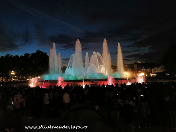 Magic Fountain Montjuic Show