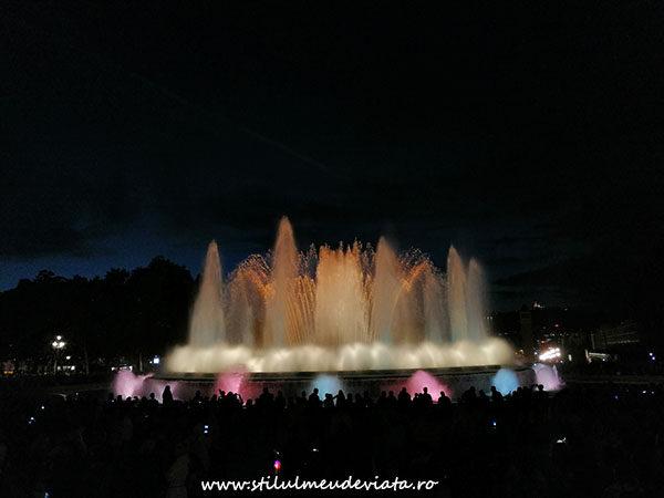 Magic Fountain Montjuic Show