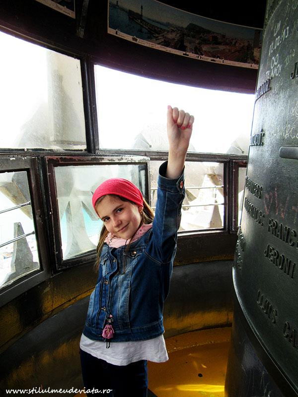 am urcat sus in Columna lui Columb