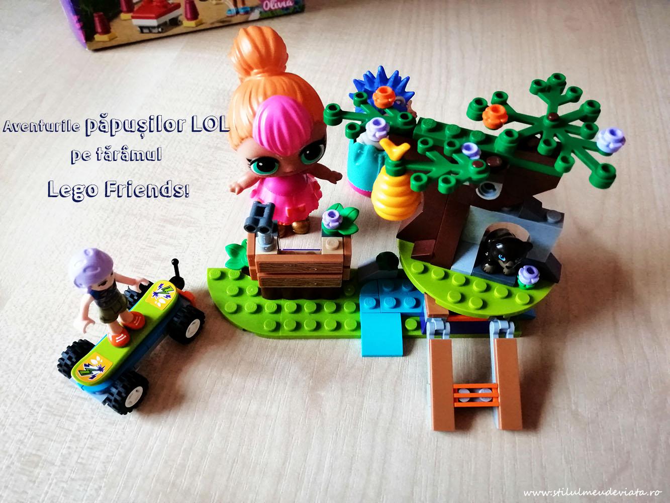 Aventurile păpușilor LOL pe tărâmul Lego Friends!