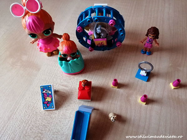 păpuși LOL și Lego Friends