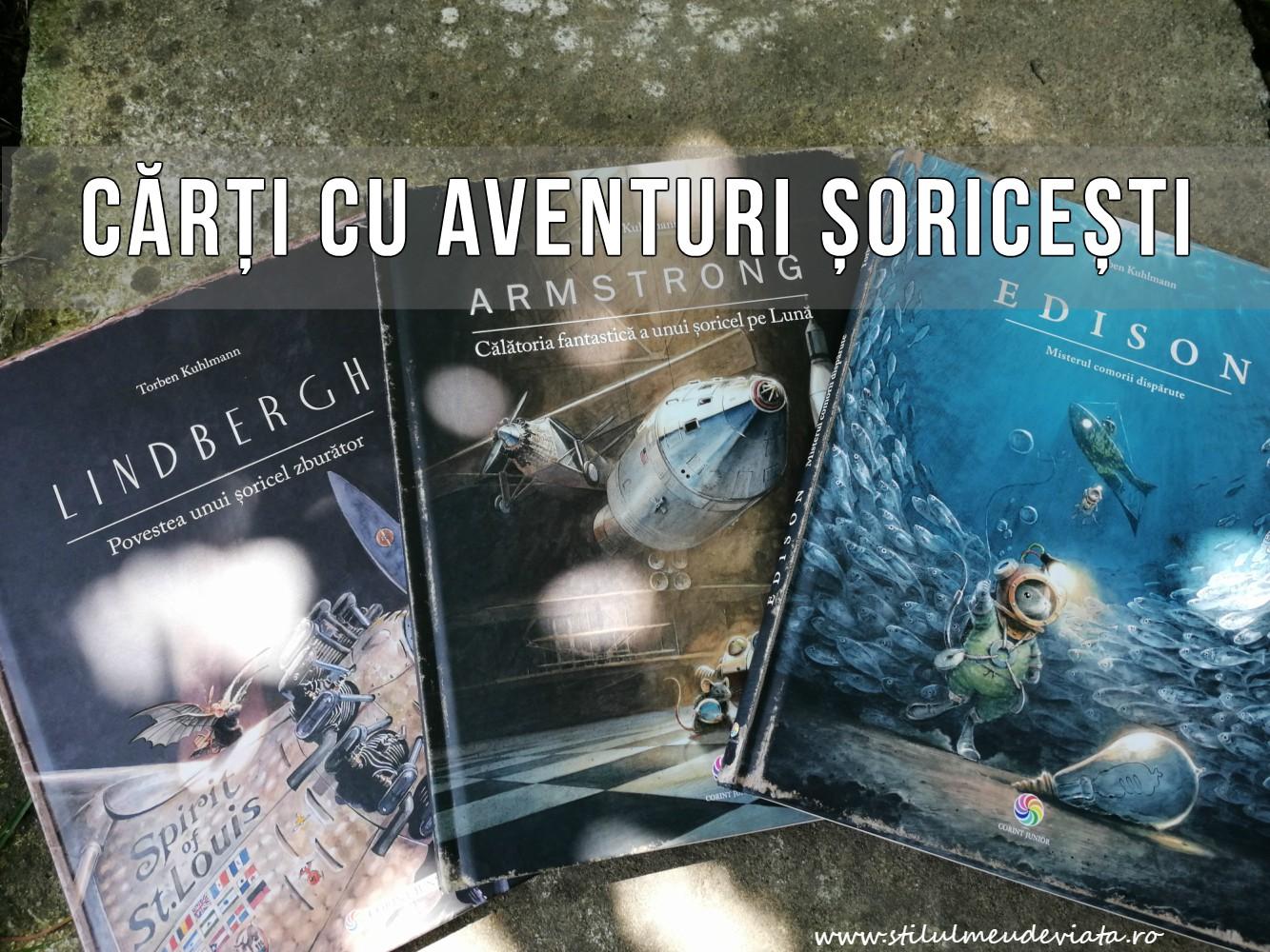 Cărți cu aventuri șoricești