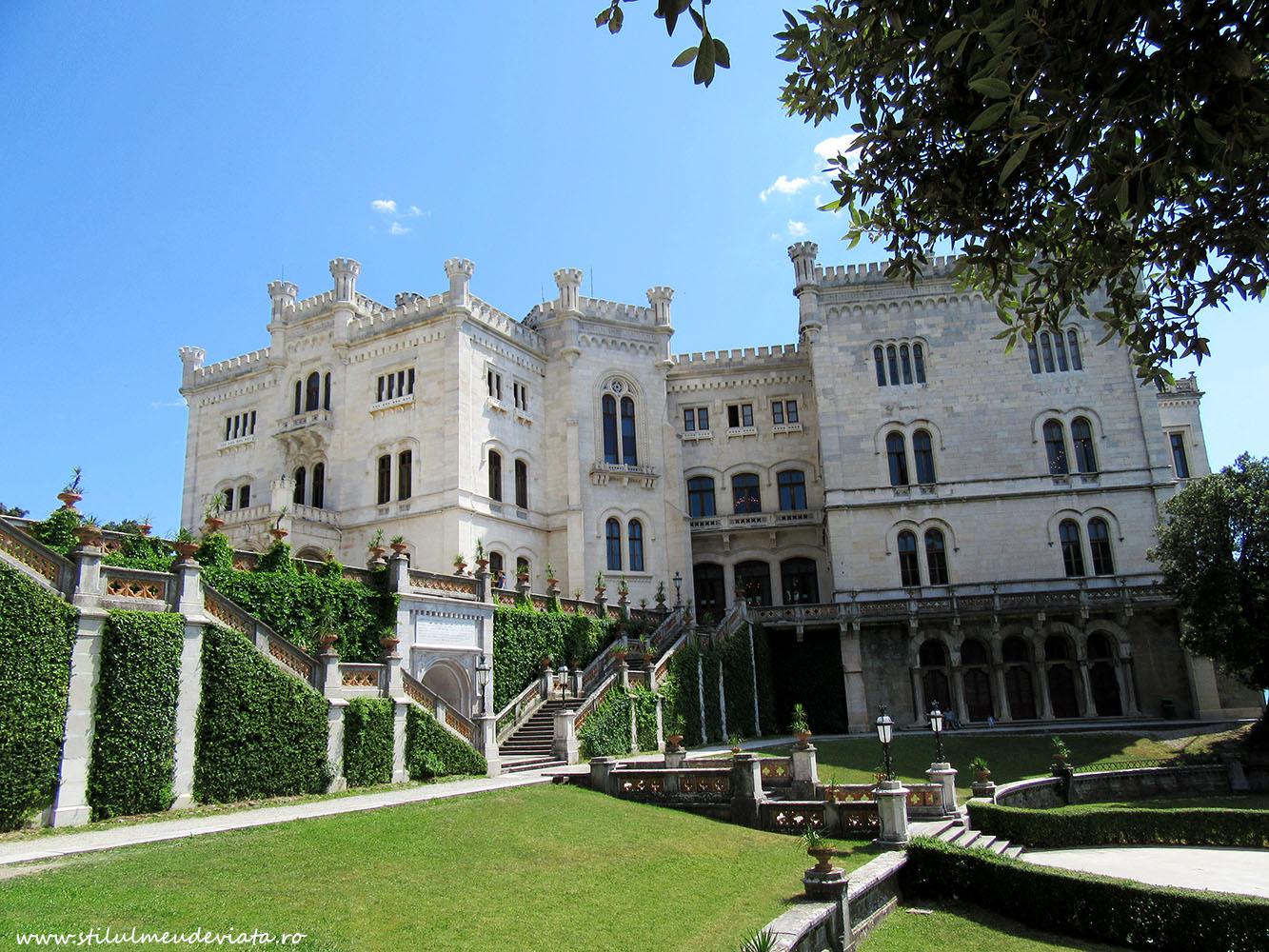 Castelul Miramare, Trieste, Italia