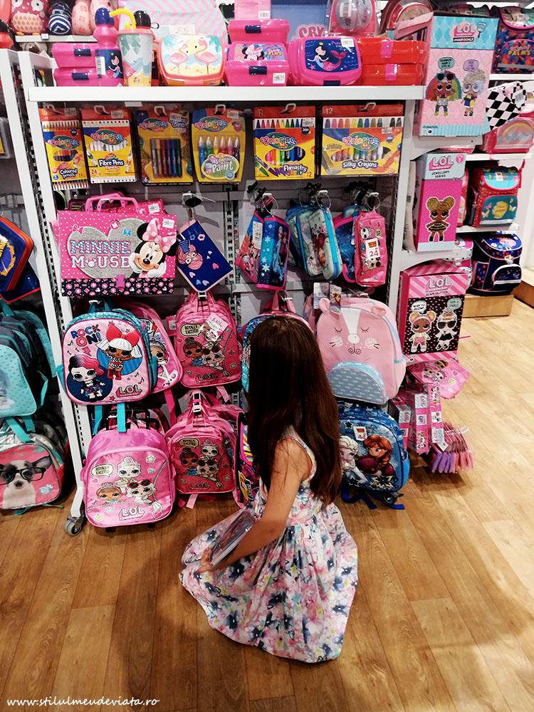 Oferta rechizite pentru scoala, magazinul Smyk All for kids!