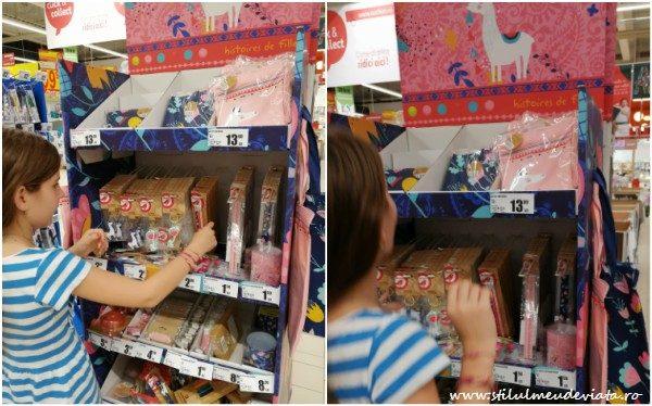 rechizite drăguțe pentru școală, Auchan