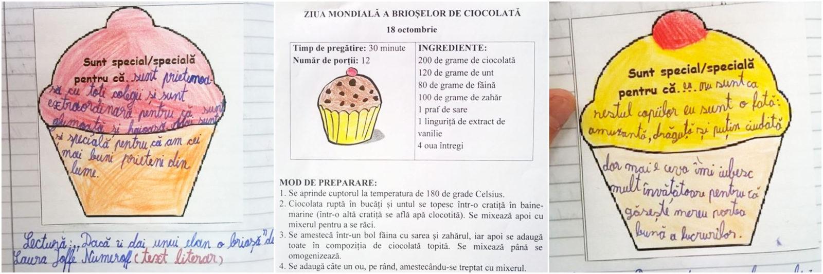 ziua mondială a brioșelor de ciocolată