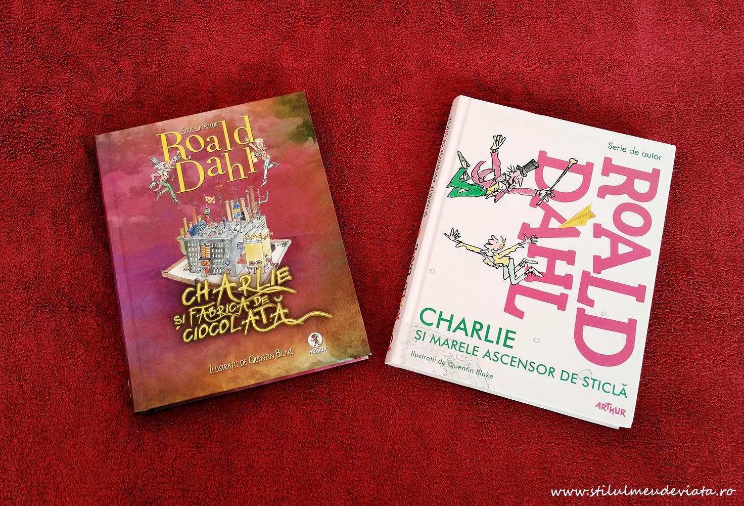Cărțile cu Charlie, Roald Dahl
